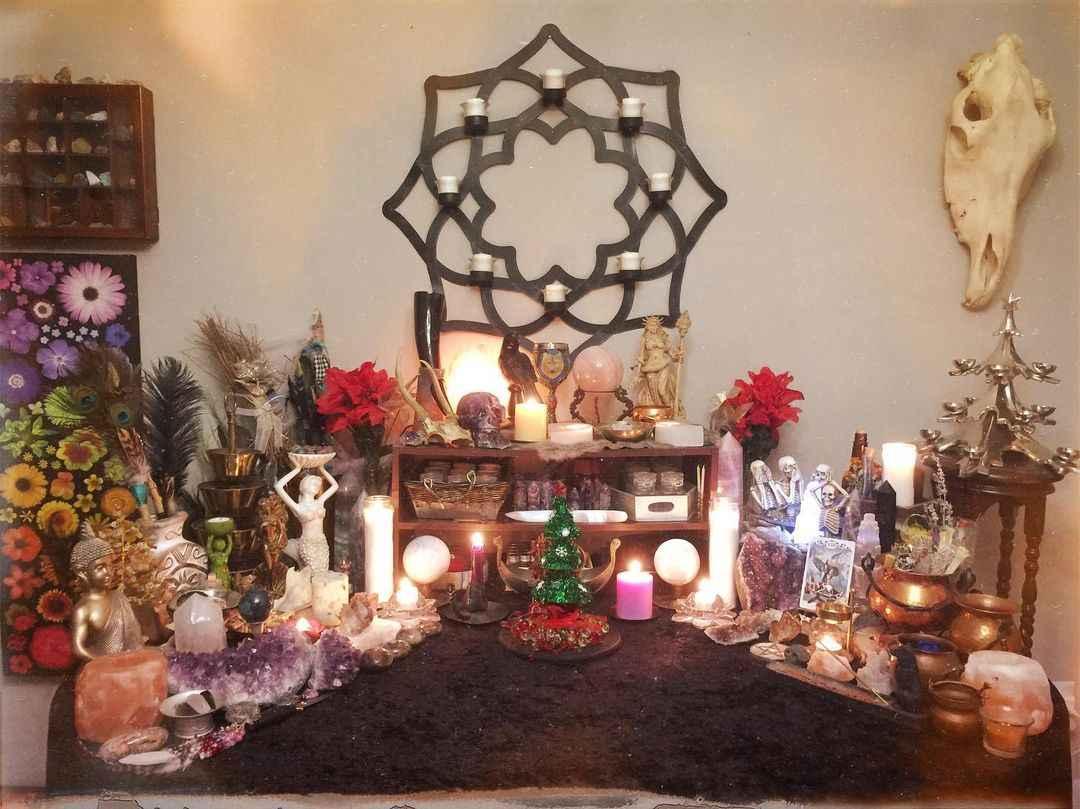 алтарь для медитации фото_25