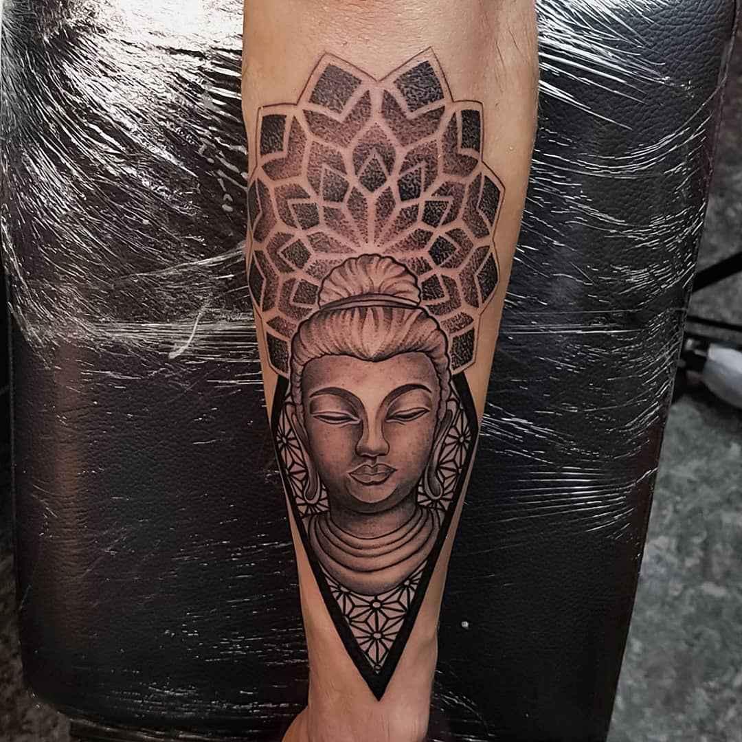 татуировка будда фото_15