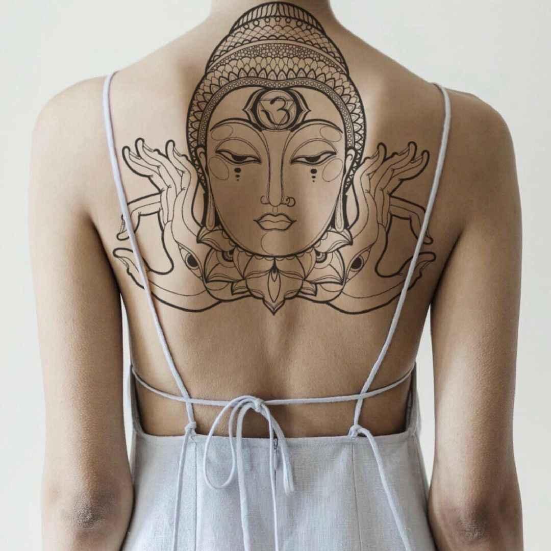 татуировка будда фото_25