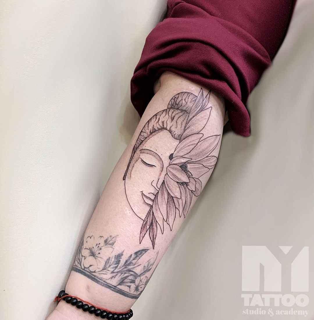 татуировка будда фото_48