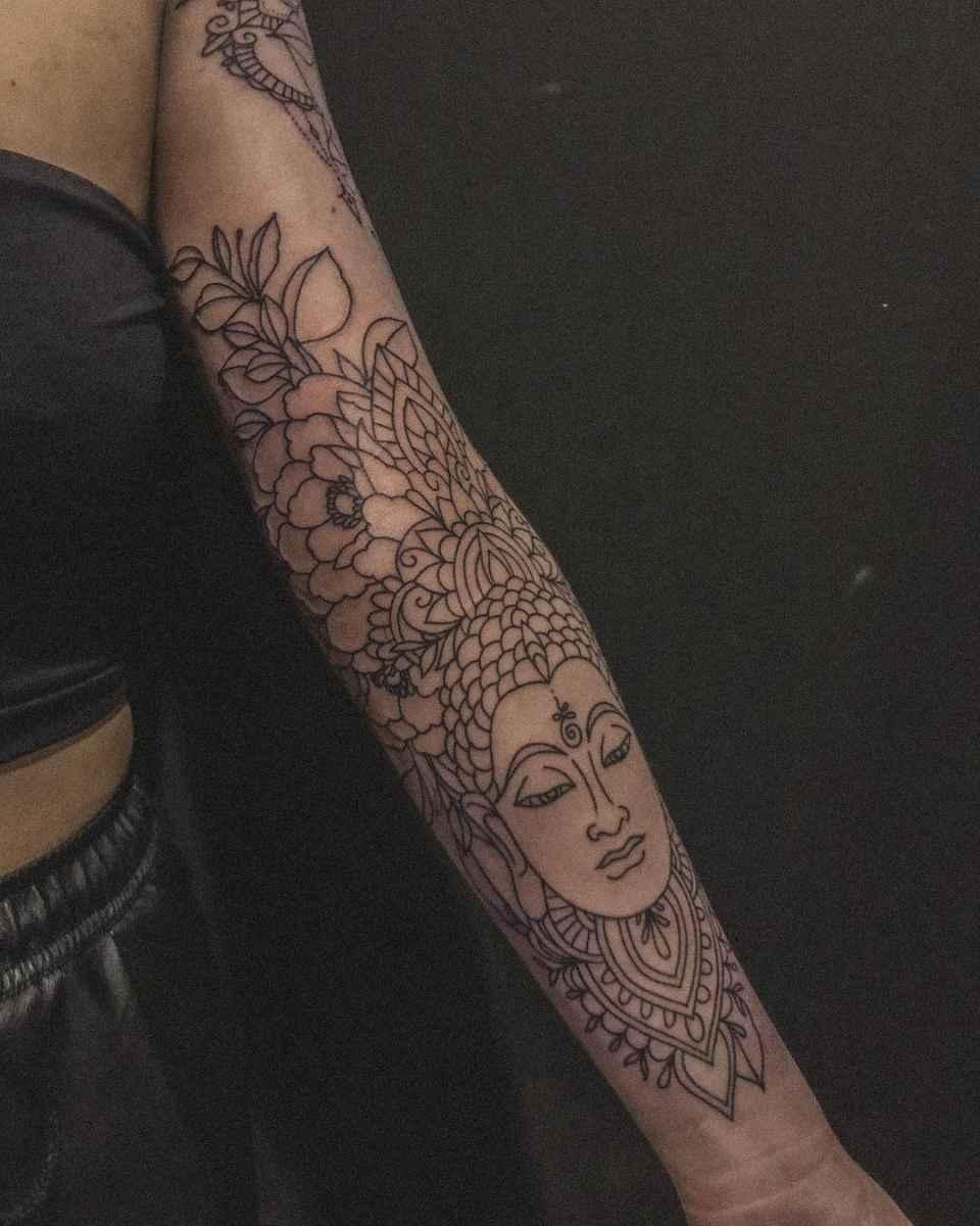 татуировка будда фото_22