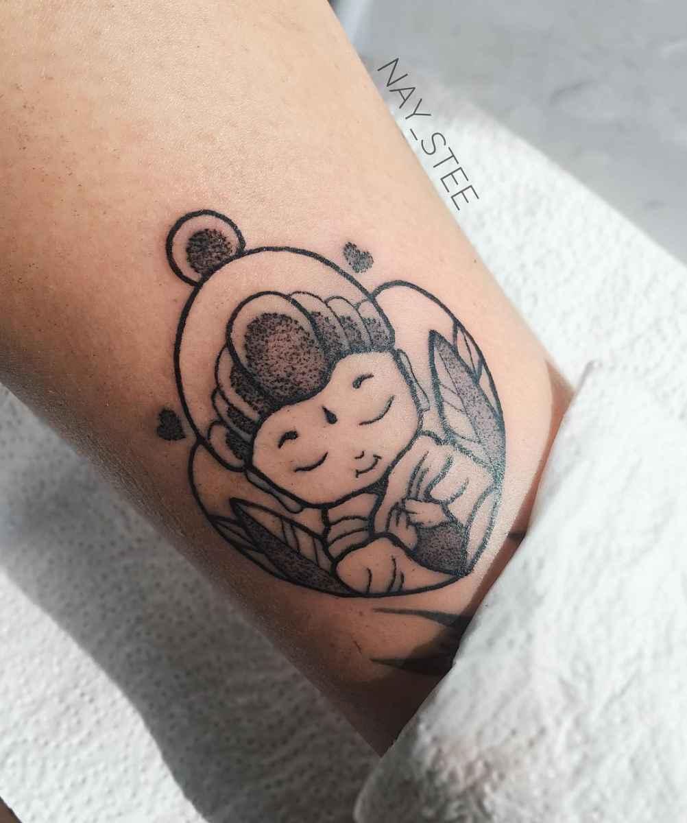 татуировка будда фото_47