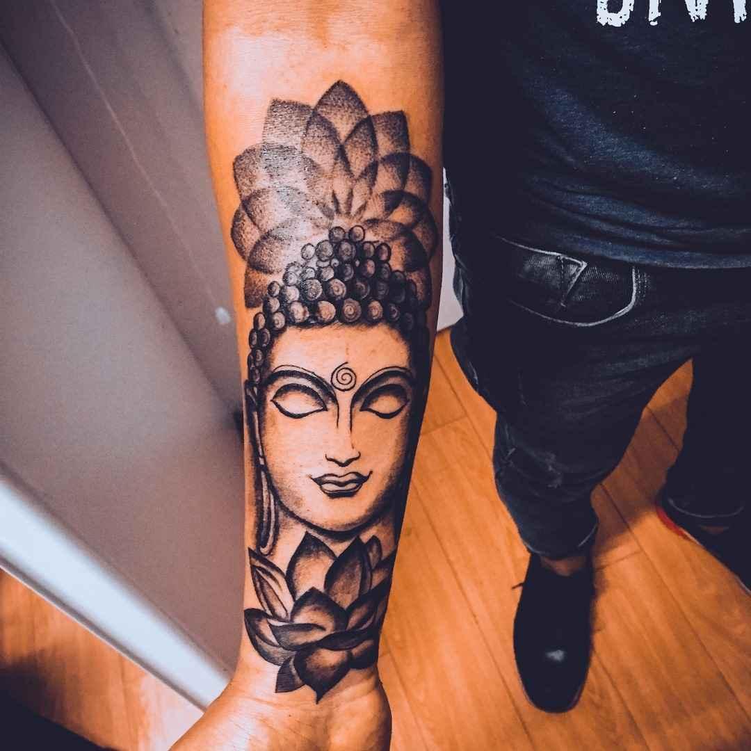 татуировка будда фото_54