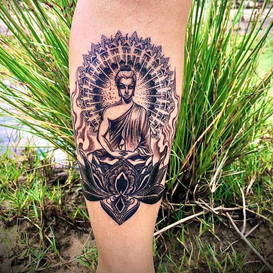 татуировка будда фото_36