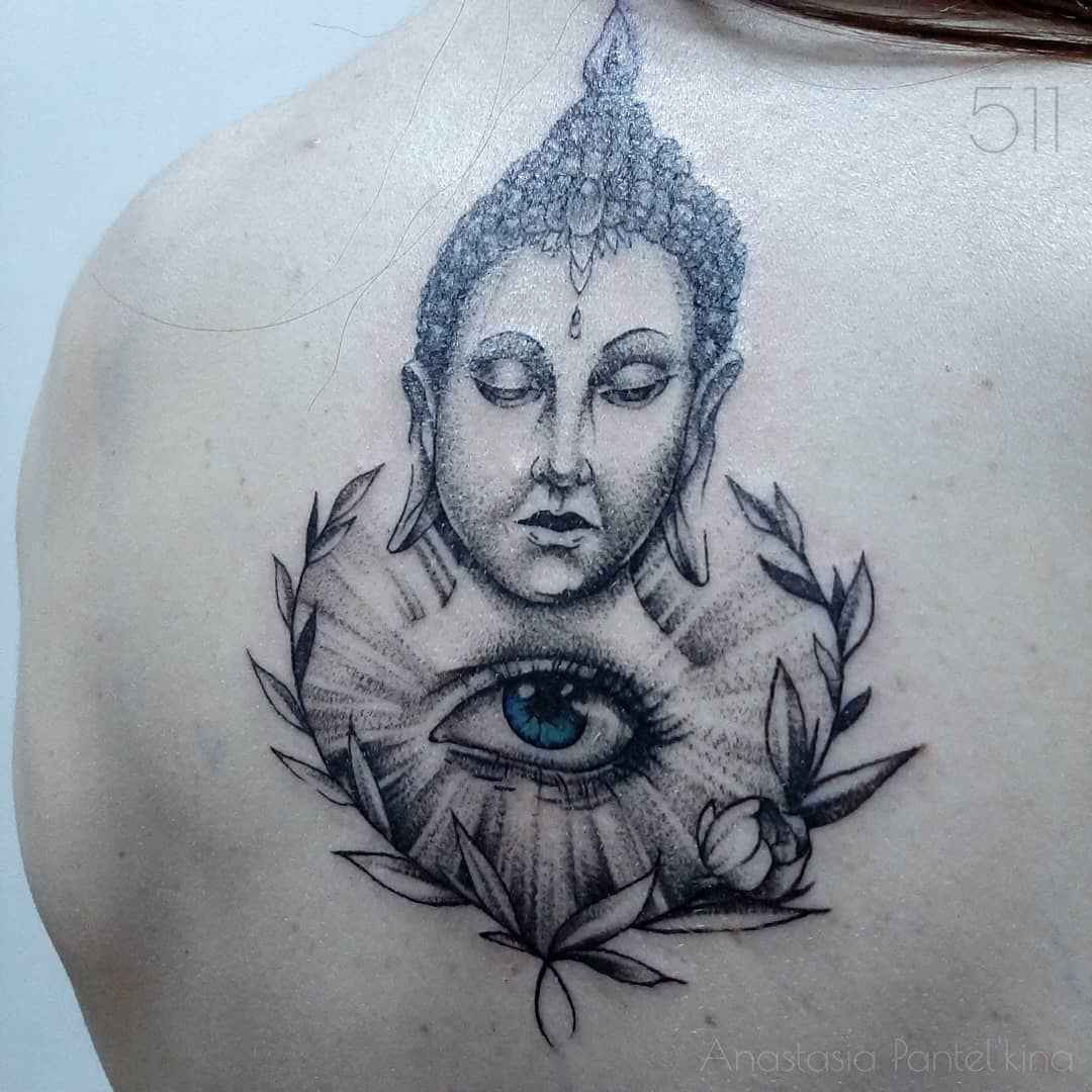 татуировка будда фото_10