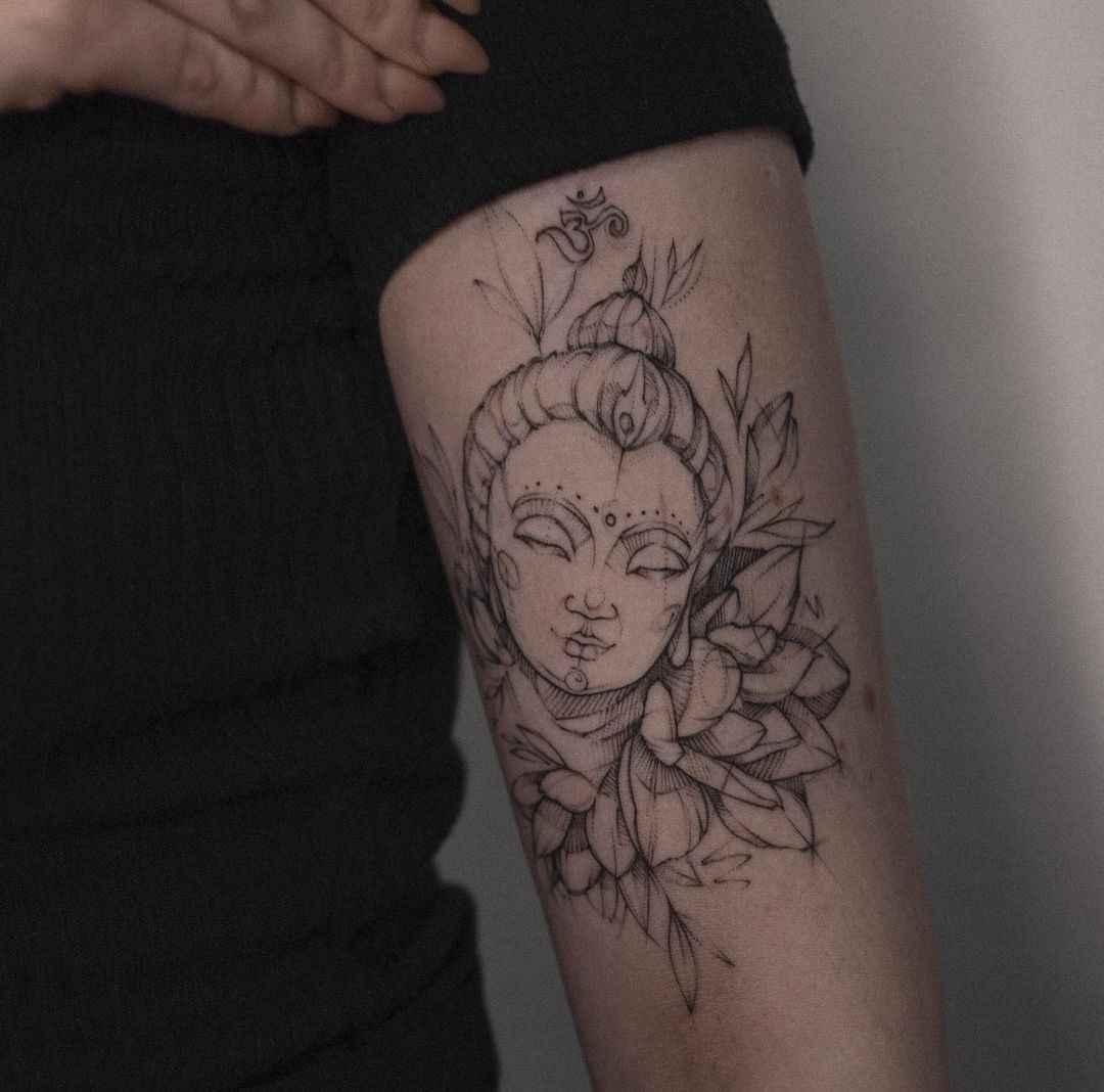татуировка будда фото_31