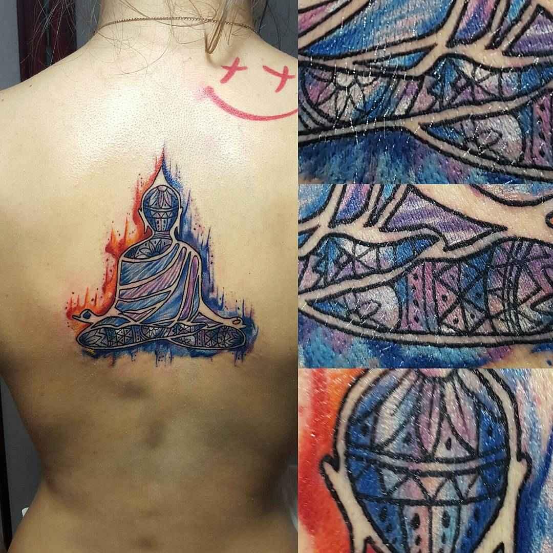 татуировка будда фото_17