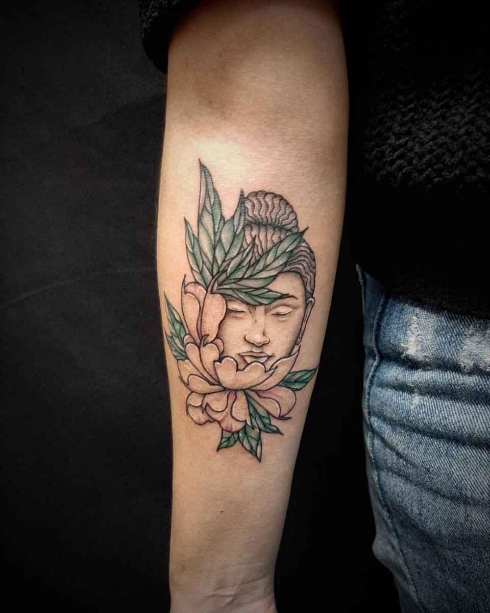 татуировка будда фото_9