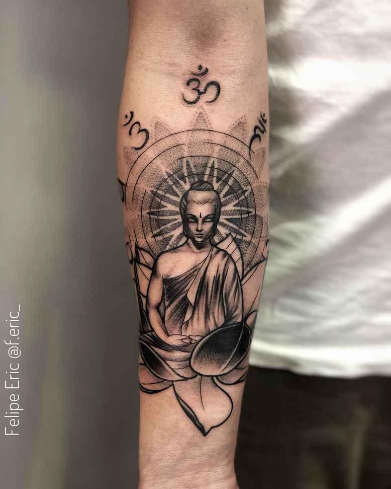 татуировка будда фото_4