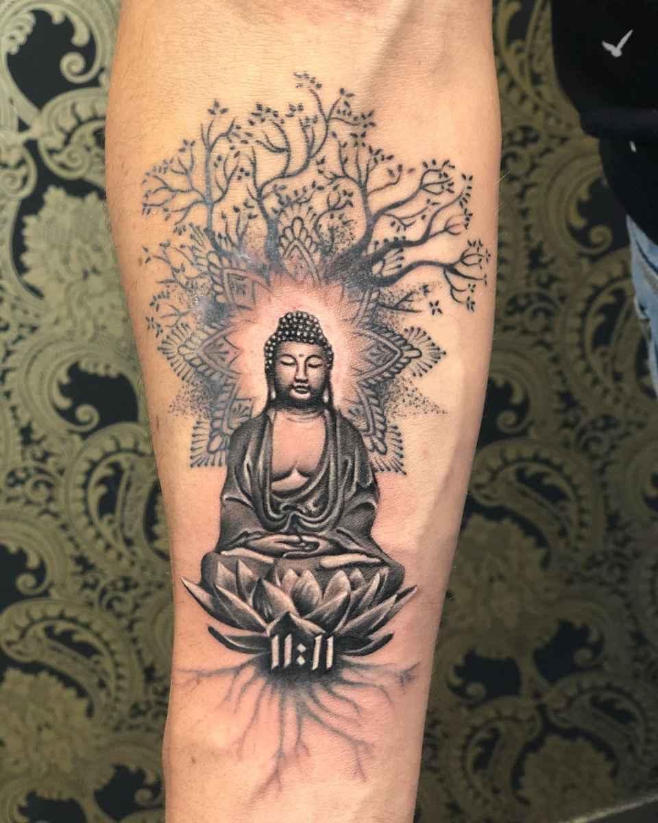 татуировка будда фото_3