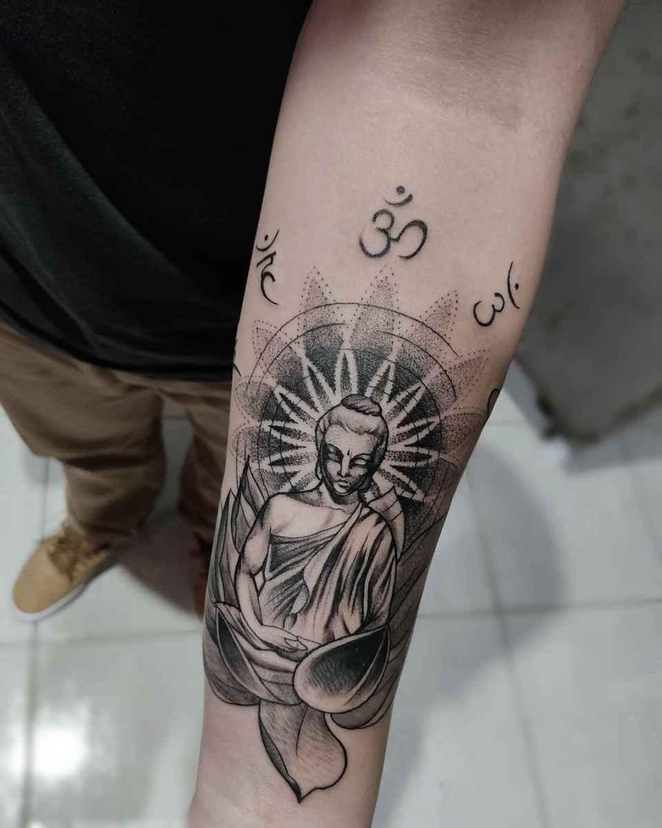 татуировка будда фото_39