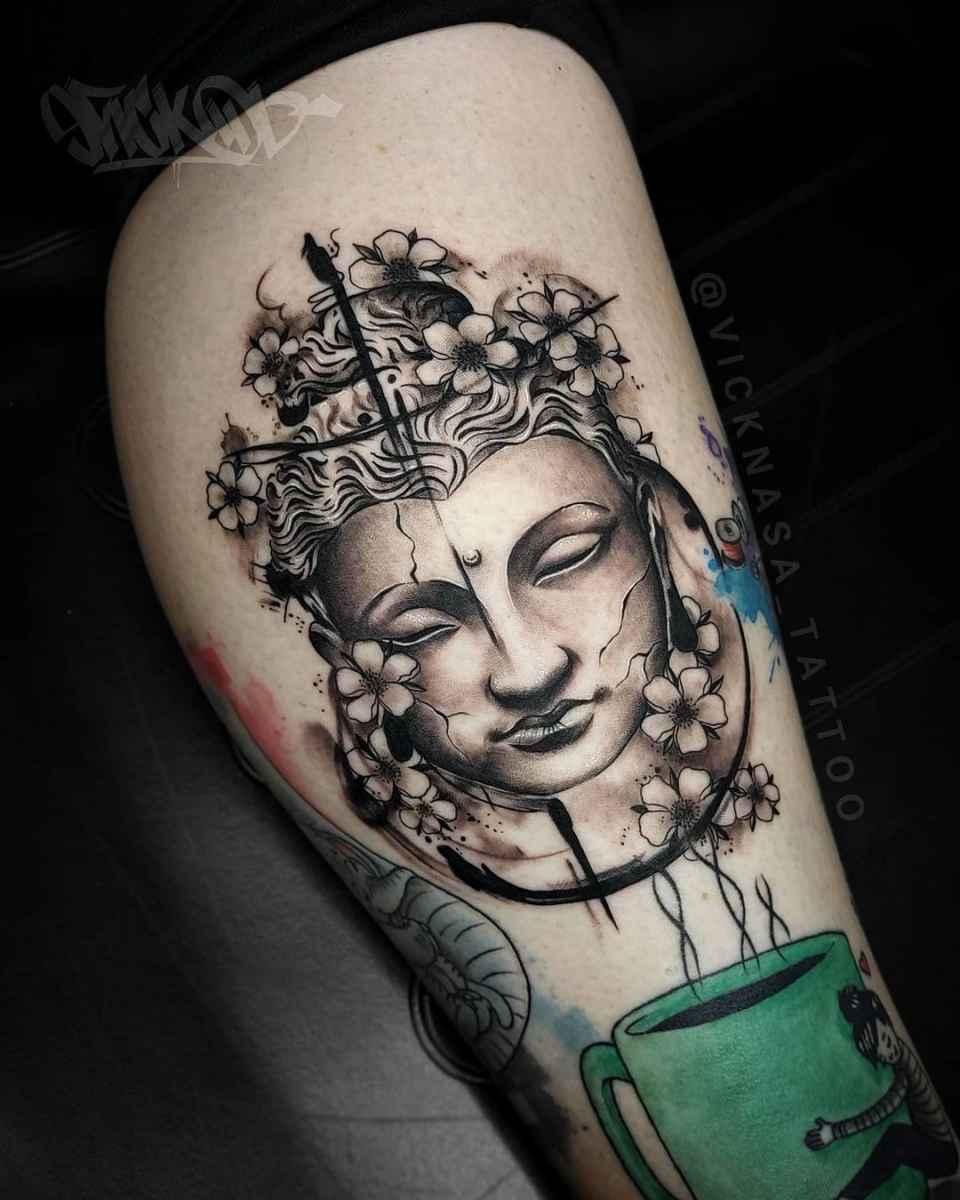 татуировка будда фото_37