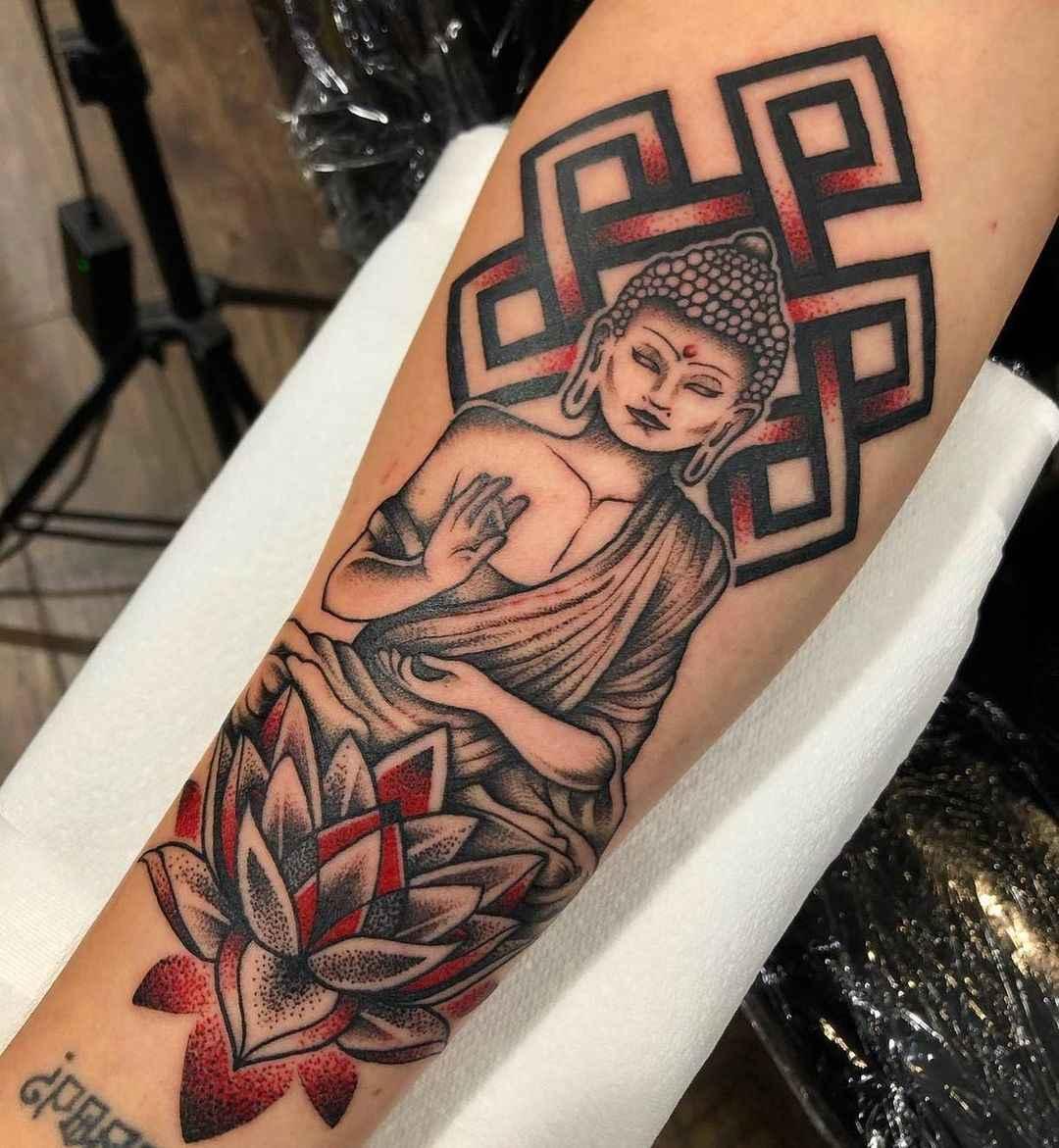 татуировка будда фото_53