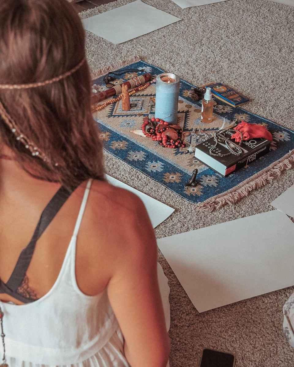 алтарь для медитации фото_4