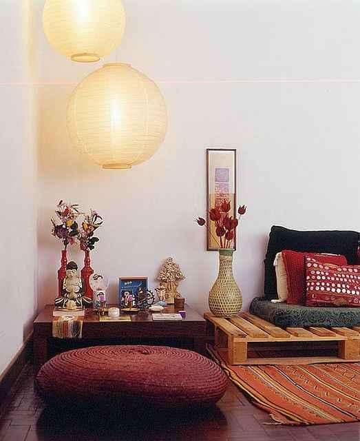Комната для медитации фото_17
