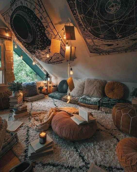 Комната для медитации фото_27