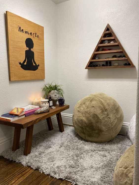 Комната для медитации фото_22