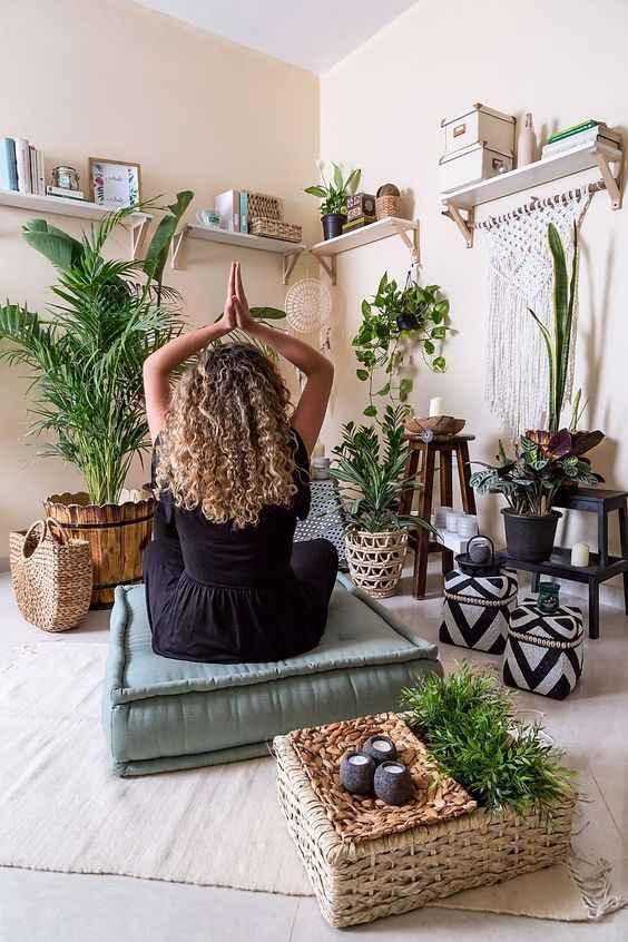 Комната для медитации фото_12
