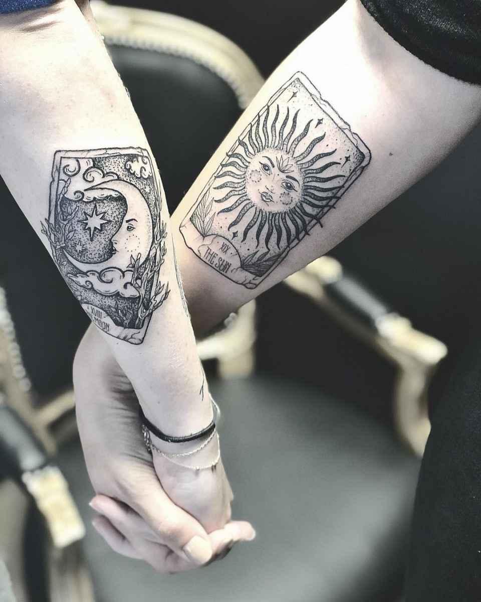 Татуировка карта таро фото_21