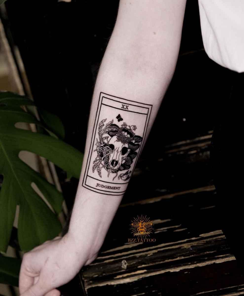 Татуировка карта таро фото_16