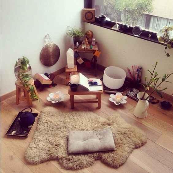 Комната для медитации фото_6