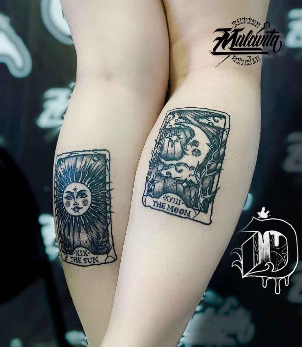 Татуировка карта таро фото_34