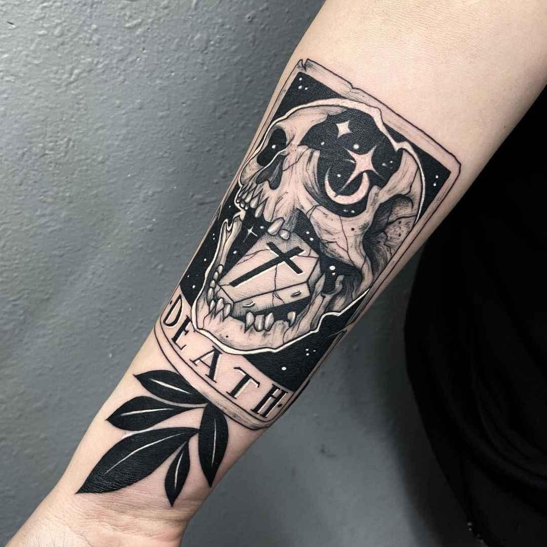Татуировка карта таро фото_27