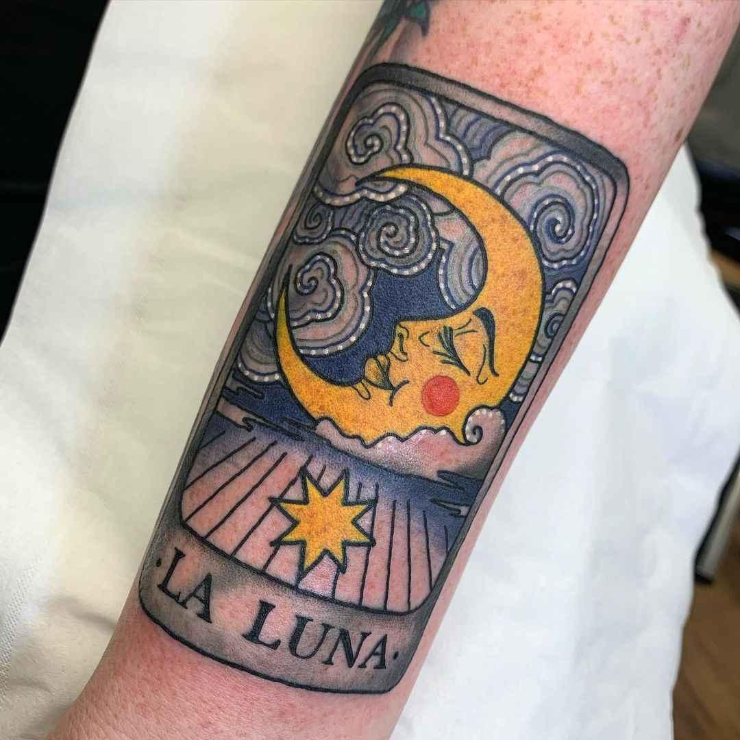 Татуировка карта таро фото_31
