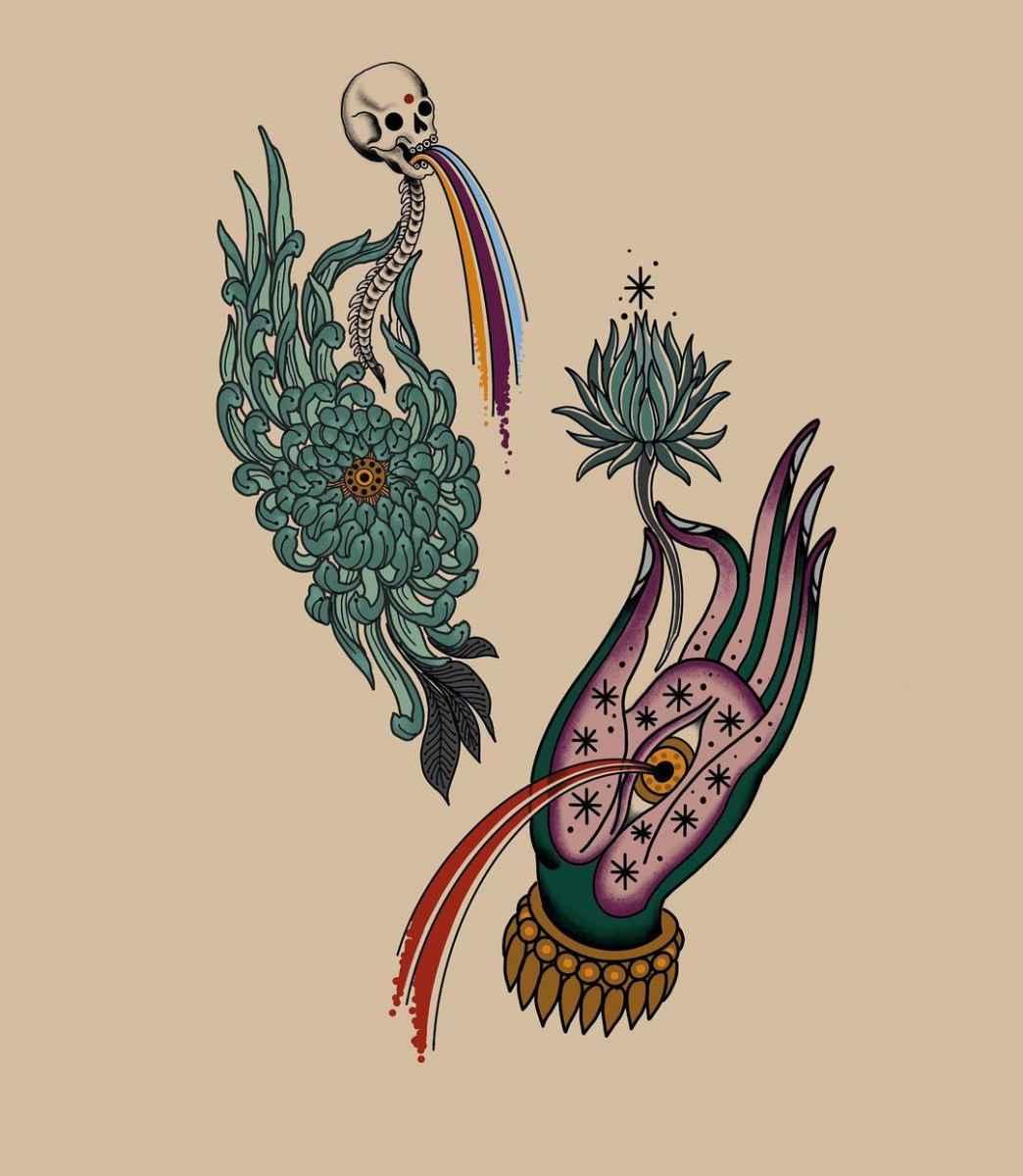 Татуировка Мудра фото_39