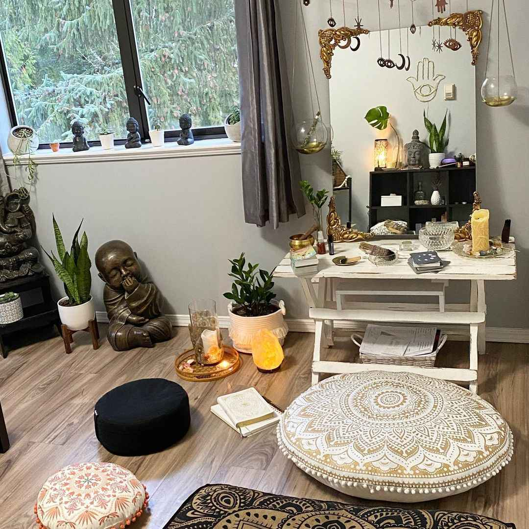 Комната для медитации фото_32