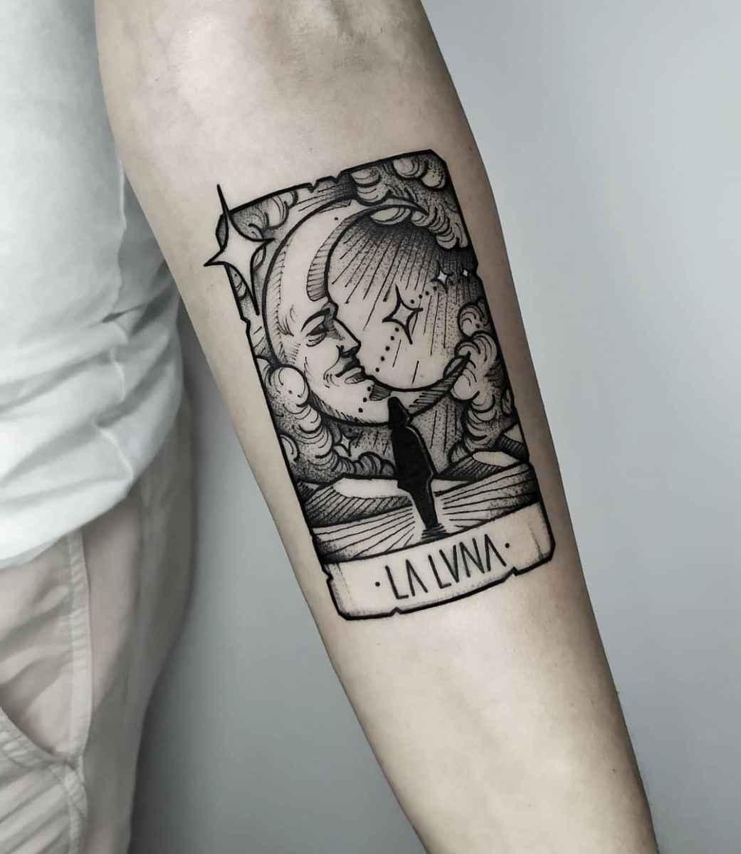 Татуировка карта таро фото_33
