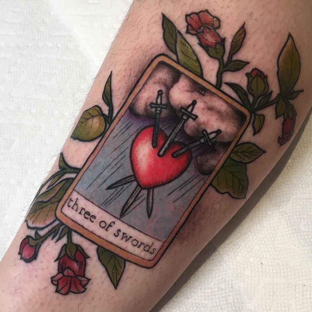 Татуировка карта таро фото_2