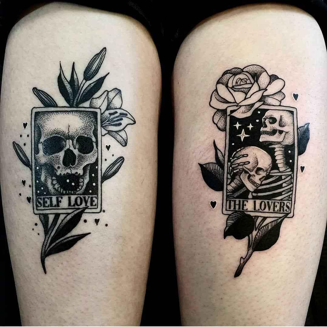 Татуировка карта таро фото_13