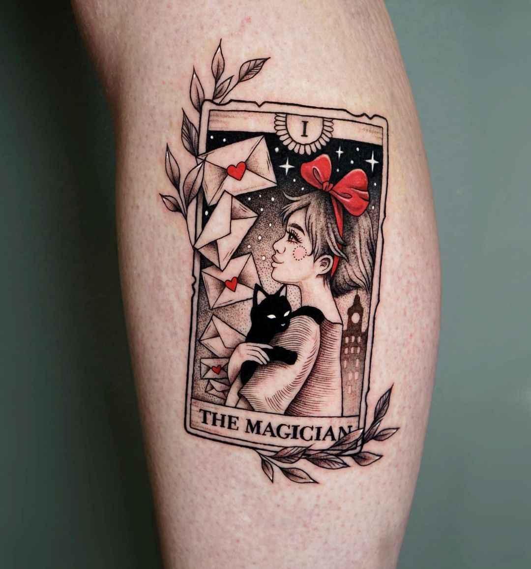 Татуировка карта таро фото_4
