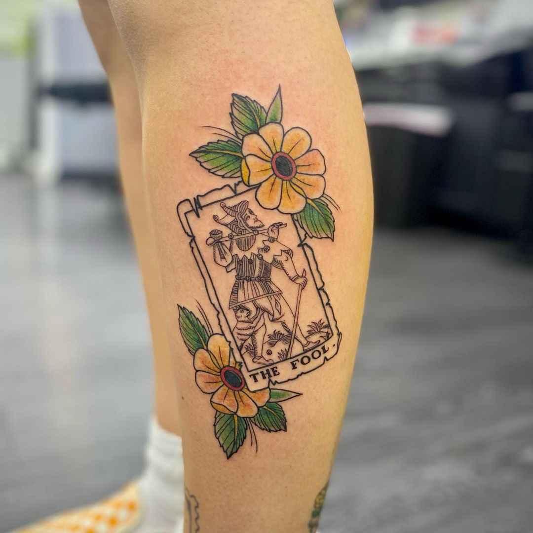 Татуировка карта таро фото_9