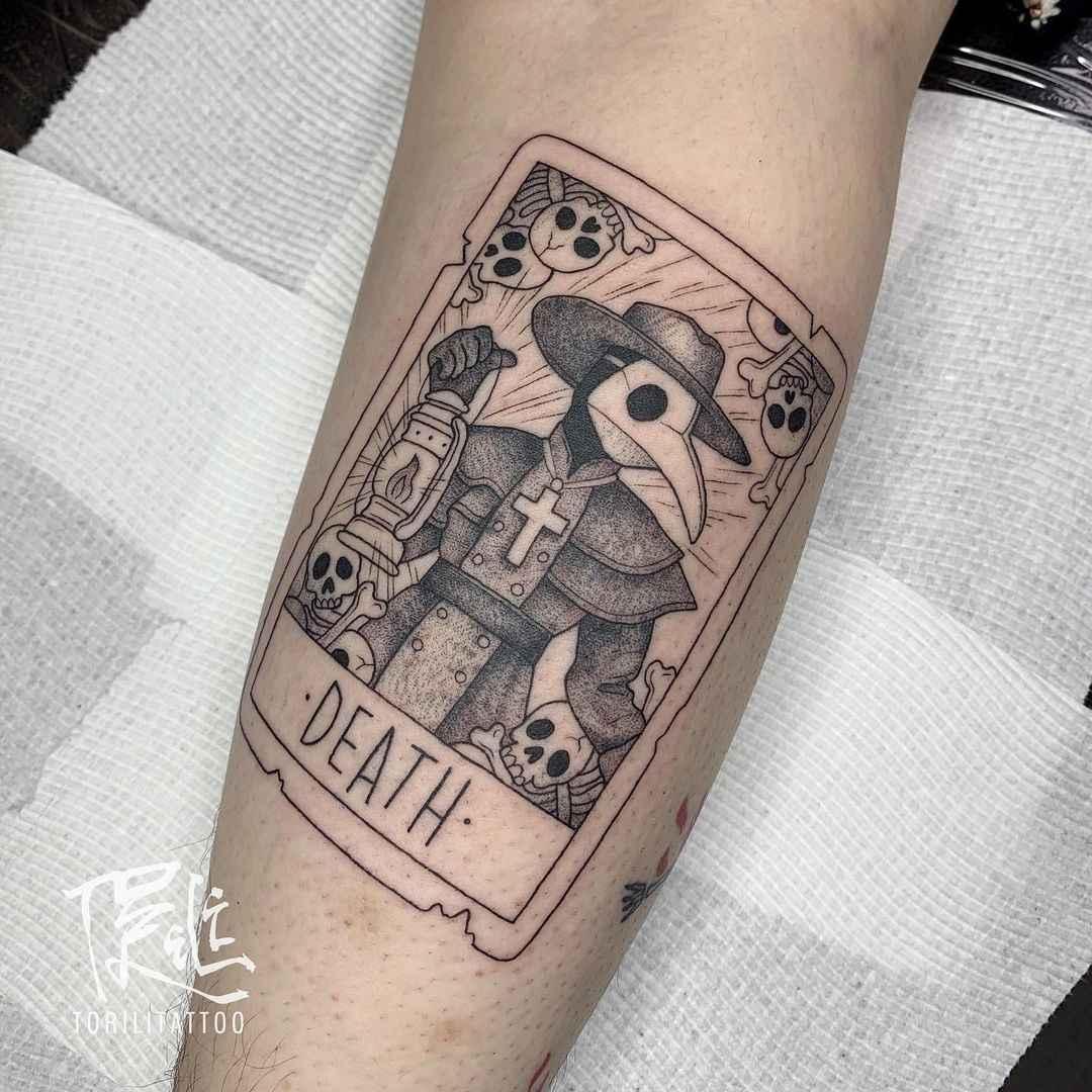 Татуировка карта таро фото_26