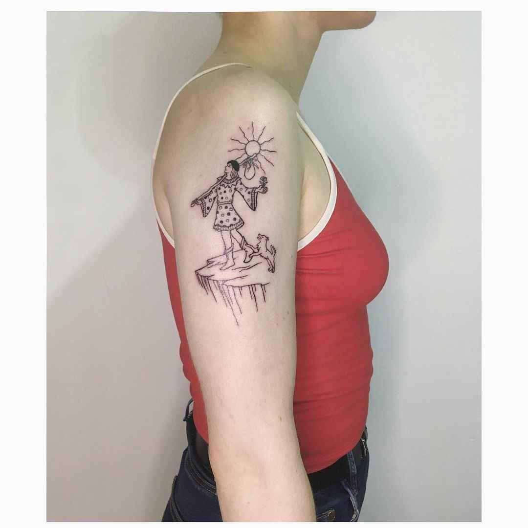 Татуировка карта таро фото_36