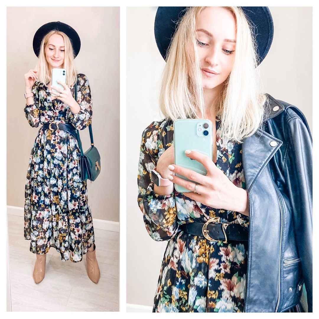 Модные чайные платья лето-осень 2021 фото_2