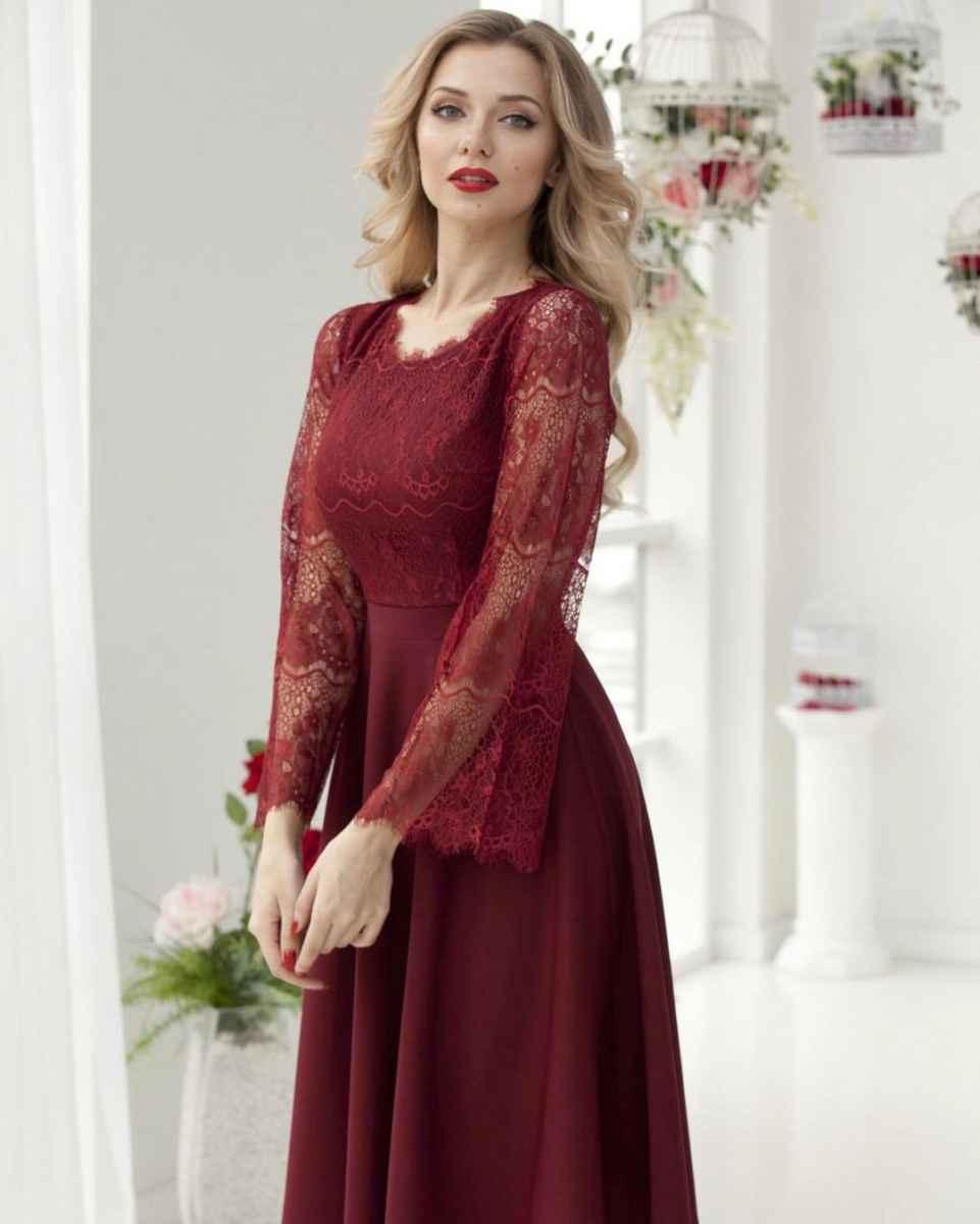 Вечерние платья на свадьбу для девушек 30 лет фото_20