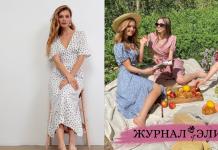 Модные чайные платья лето-осень 2021 фото идеи